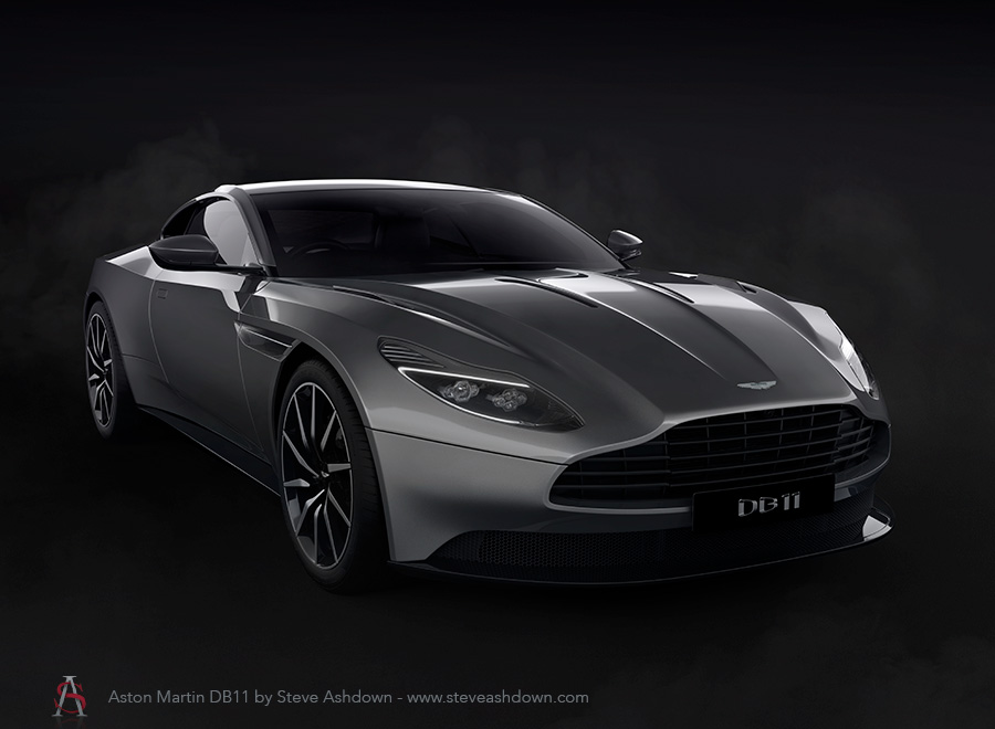 Aston Martin DB11 by Steve Ashdown