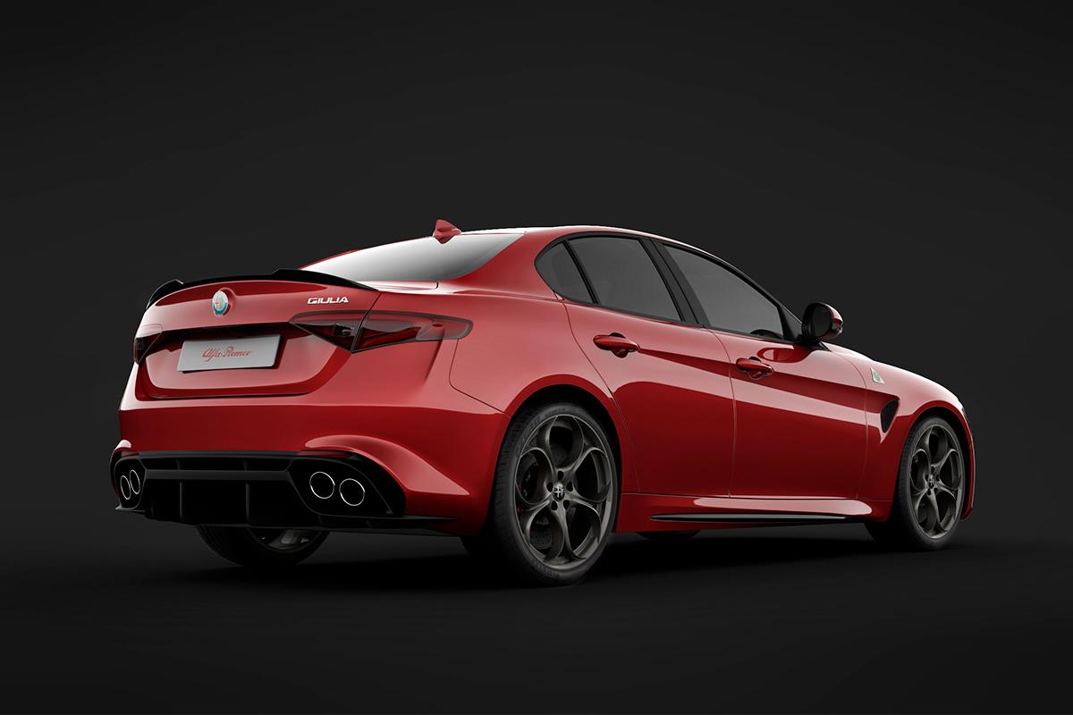 Alfa Romeo Giulia photography