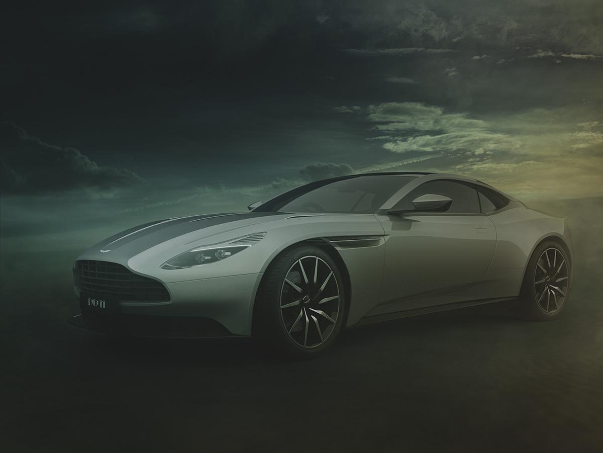 Aston Martin DB11 CGI
