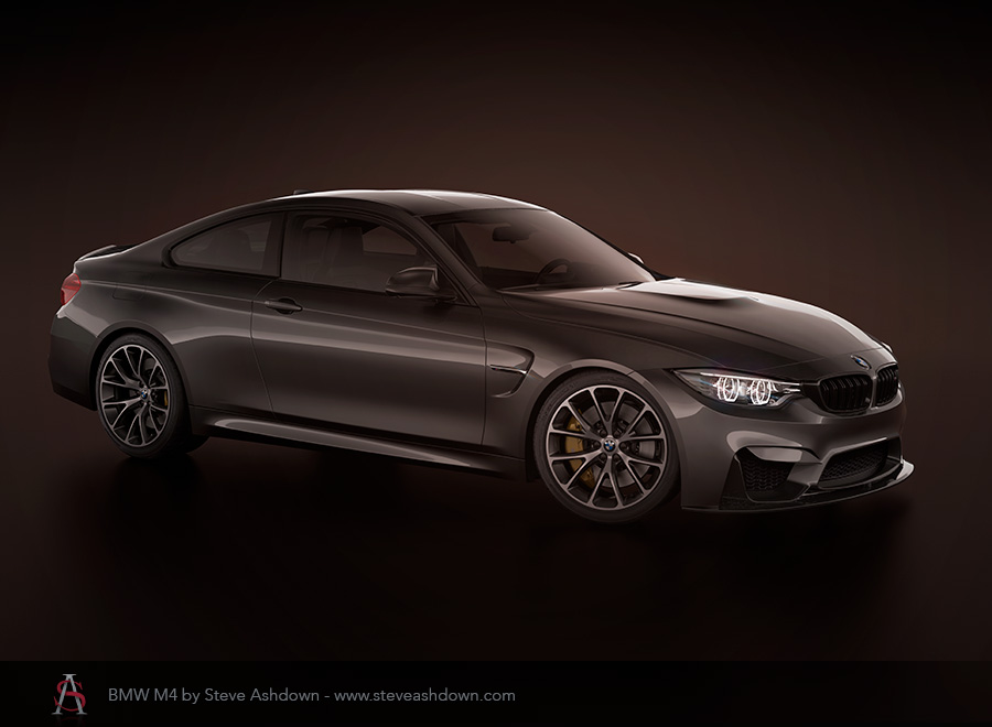 BMW M4 dark