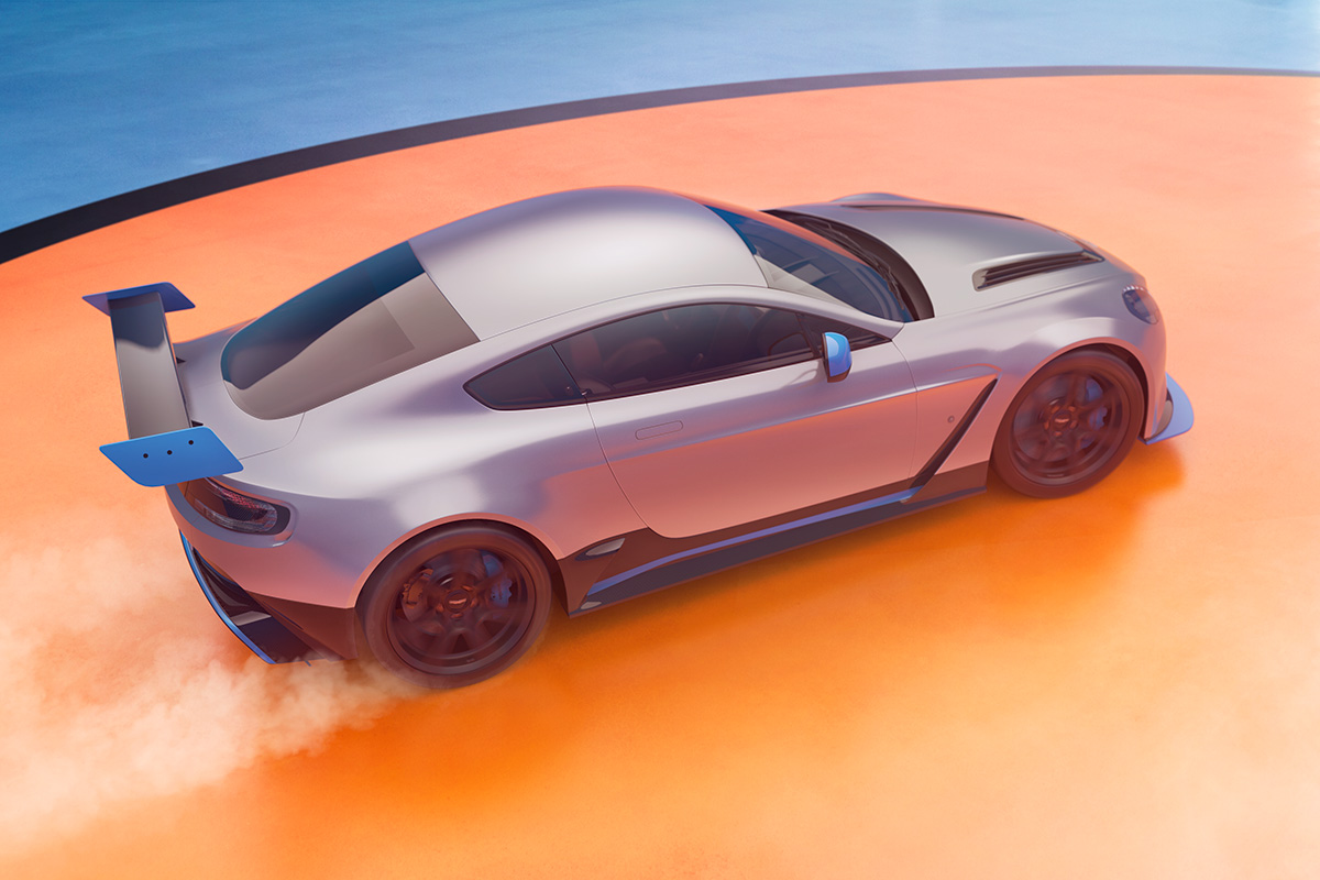 Aston Martin GT12 Photographer