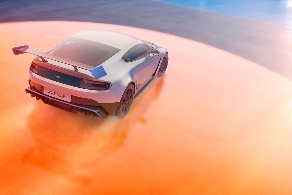 Aston Martin Vantage Photographer