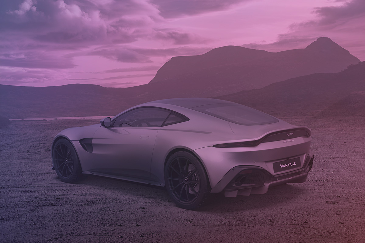 New Aston Martin Vantage Photographer