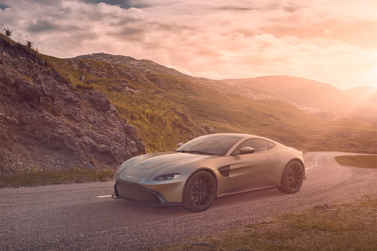 Aston Martin Vantage photographer
