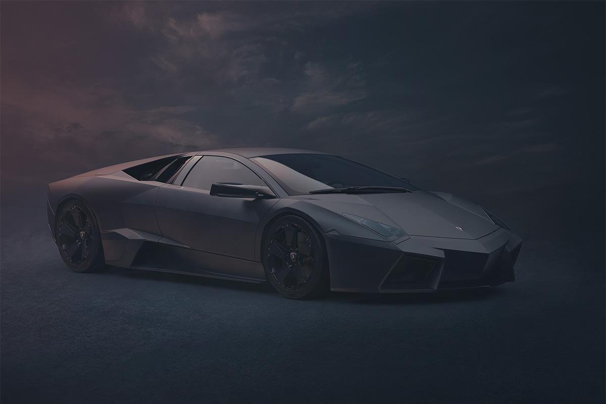 Lamborghini Reventon studio photography