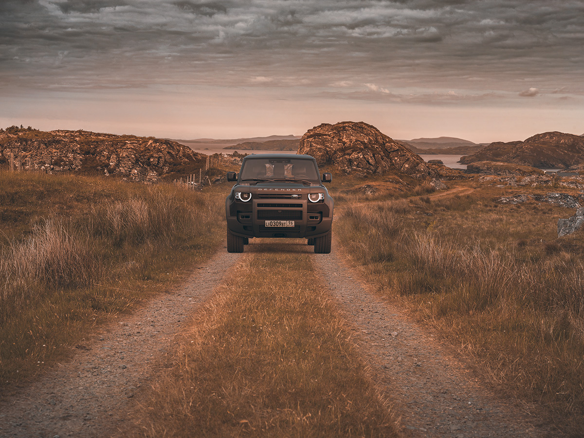 Land Rover Defender Photography