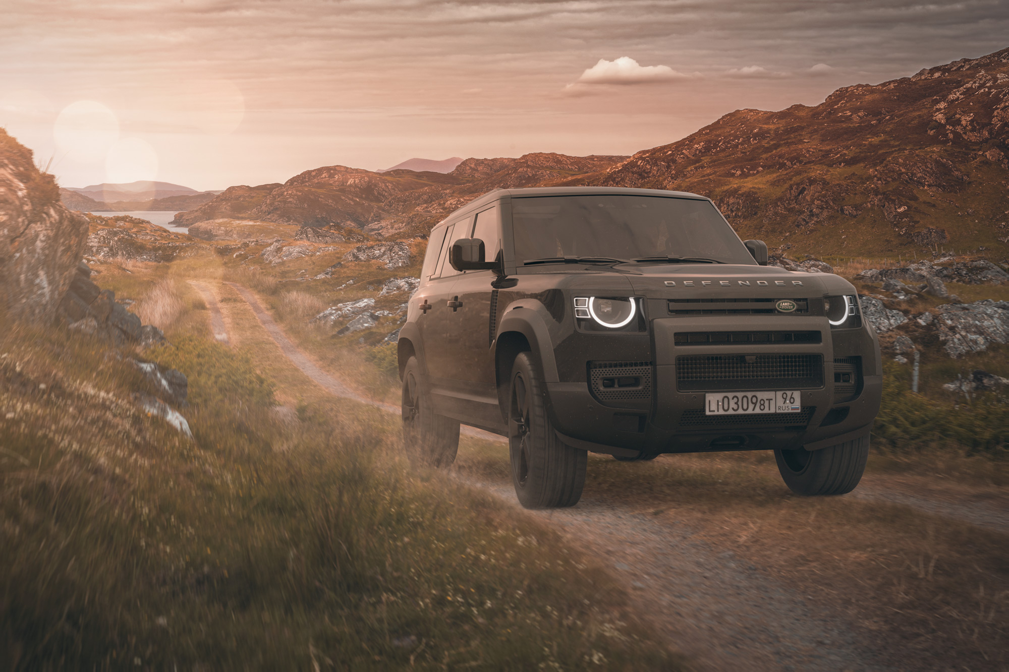 New Land Rover Defender photographer