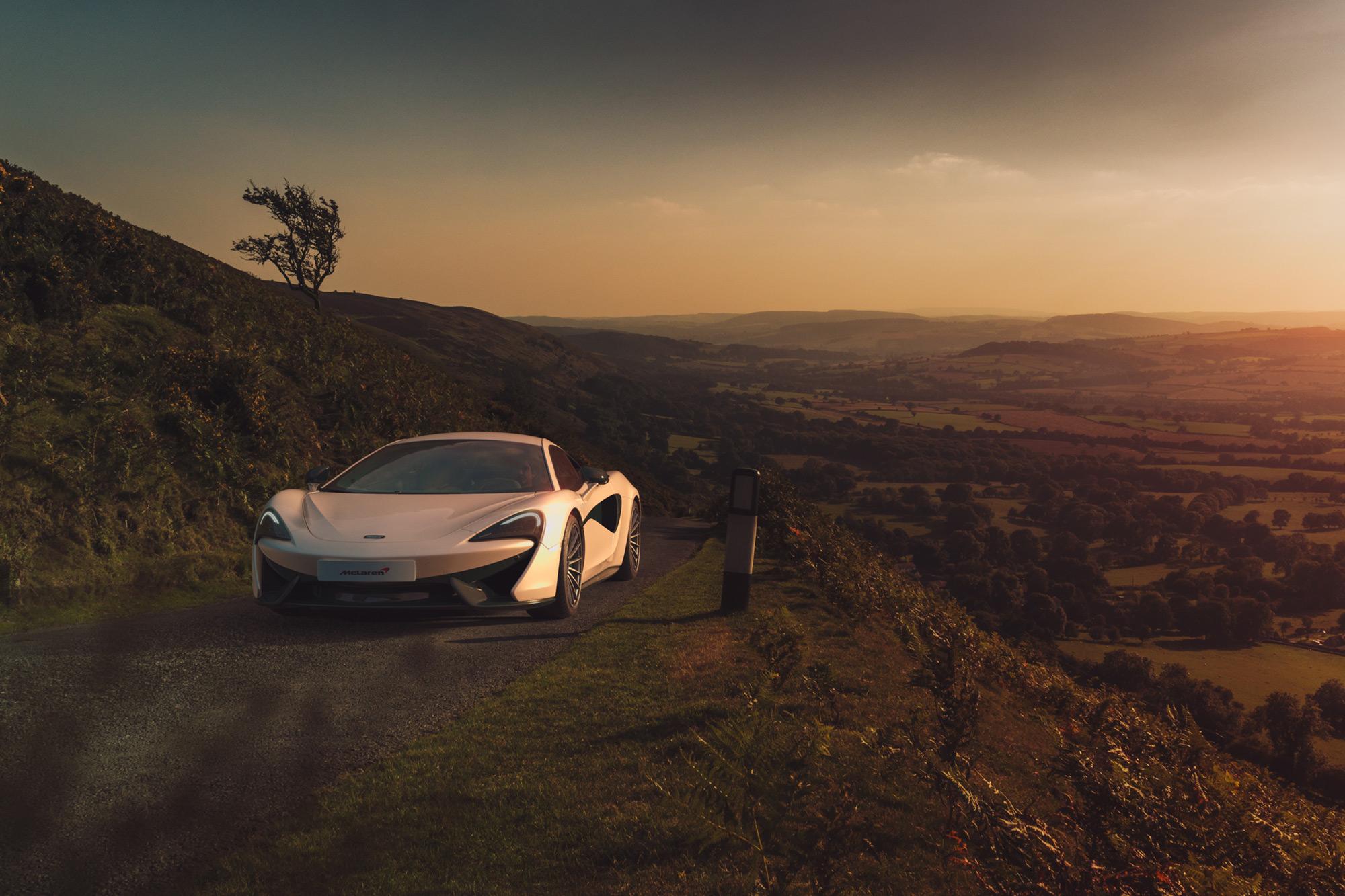 McLaren 570s car photographer
